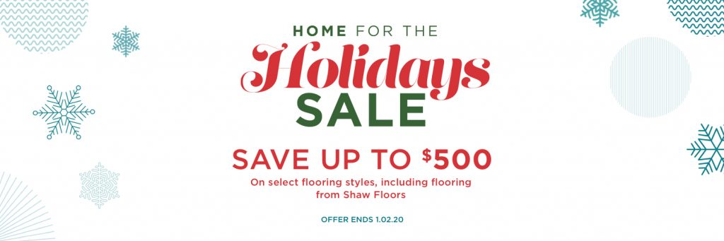 Home for holidays sale | Flooring By Design