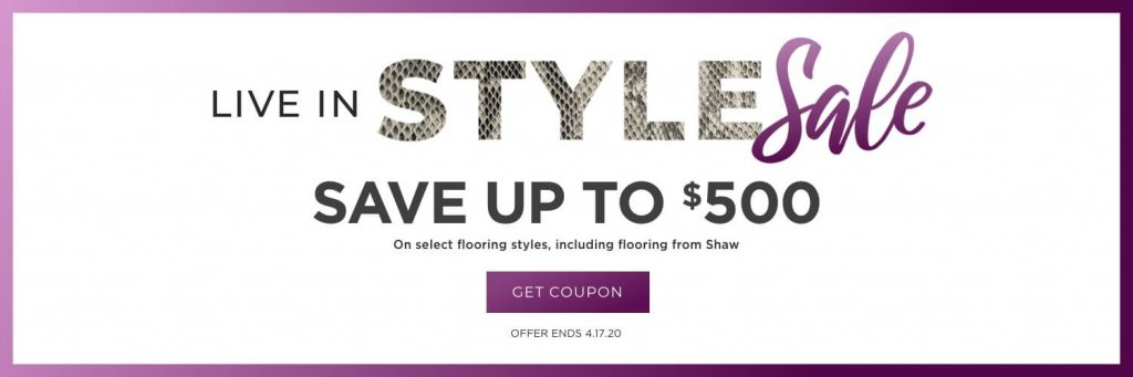 Live in style sale | Flooring By Design