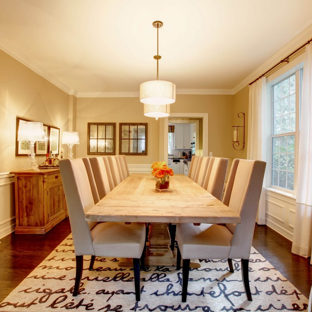 Choosing the Best Rug for Your Dining Room | Flooring By Design
