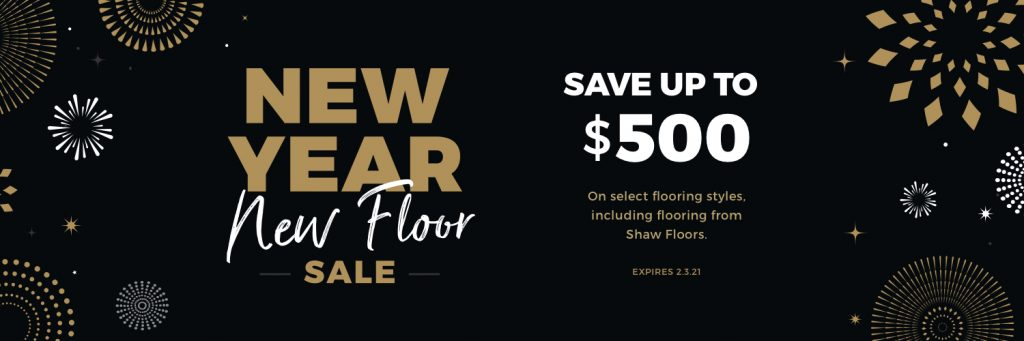 New Year New Floors Sale | Flooring By Design